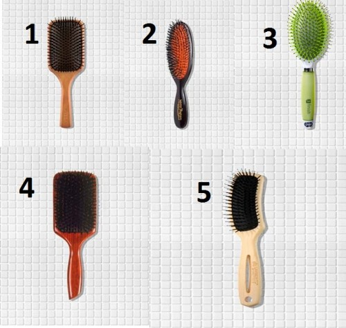 انواع فراشي الشعر
