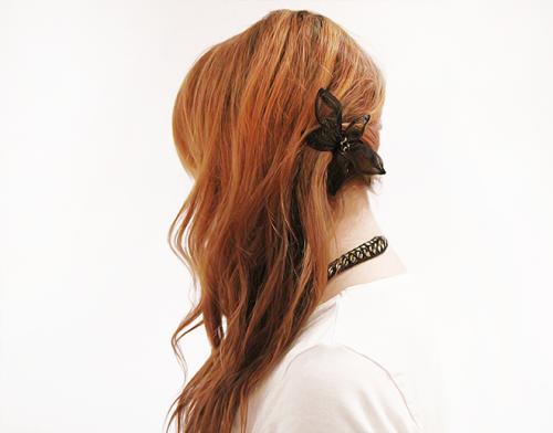 تسريحات شعر بسيطة
