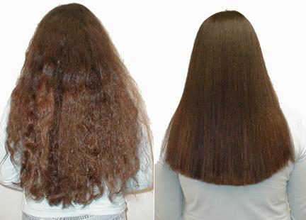 التخلص من الشعر المجعد