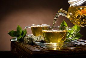 شرب الشاي الأخضر للبشرة